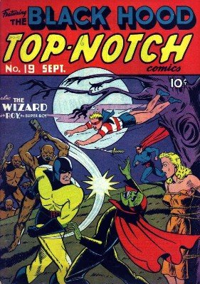 Various Authors - Top-Notch Comics No. 19 (Sep 1941)