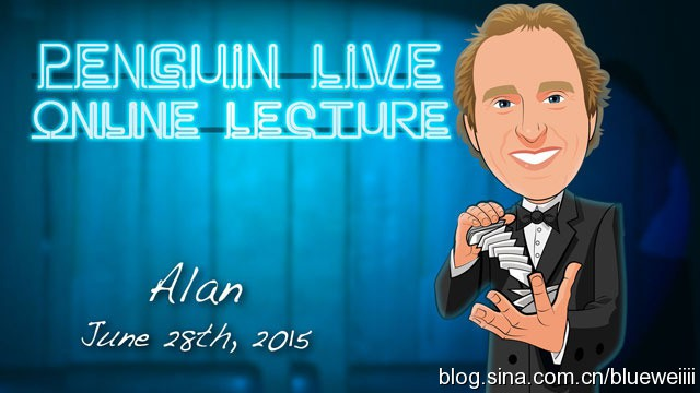 Alan Alfredo Marchese Penguin Live Online Lecture