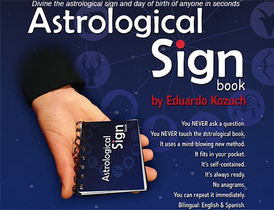 Eduardo Kozuch And Vernet Magic - Astrological Sign