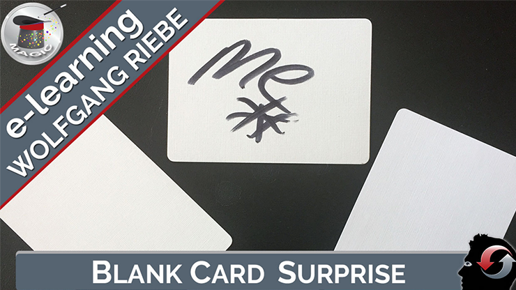 Wolfgang Riebe - Blank Card Surprise