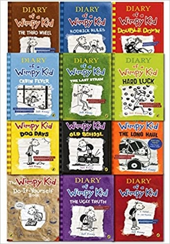 Diary of a Wimpy Kid Series (1-12)