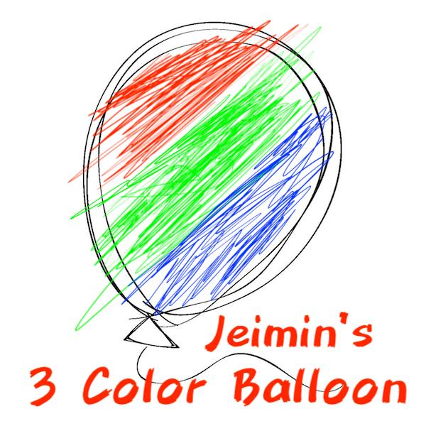 Jeimin - 3 Color Balloon