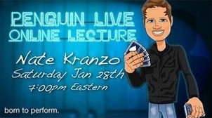 Nathan Kranzo Penguin Live Online Lecture