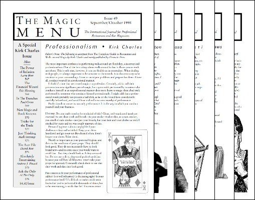Jim Sisti - Magic Menu volume 9 (Sep 1998 - Aug 1999)