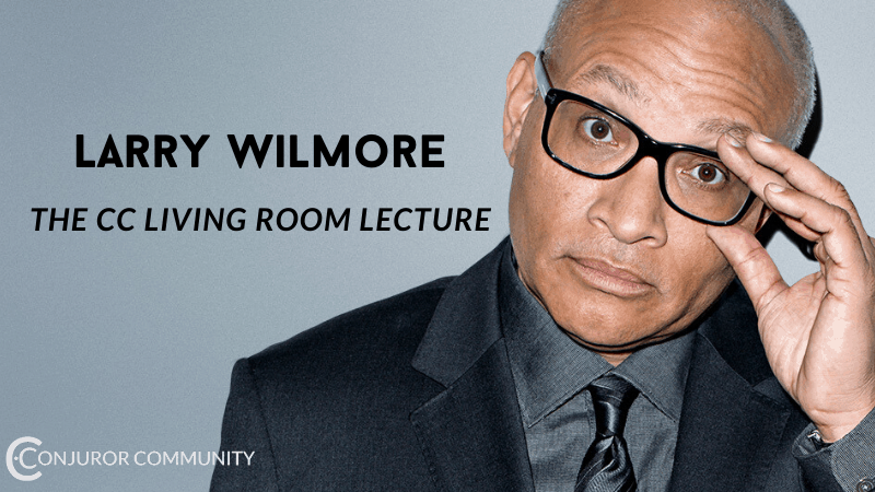 The Larry Wilmore CC Living Room Lecture