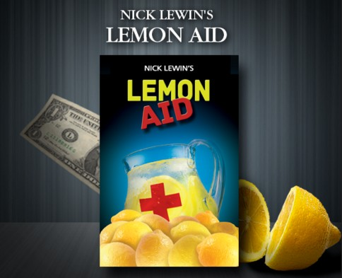 Nick Lewin's Lemon Aid - NOW BACK IN STOCK