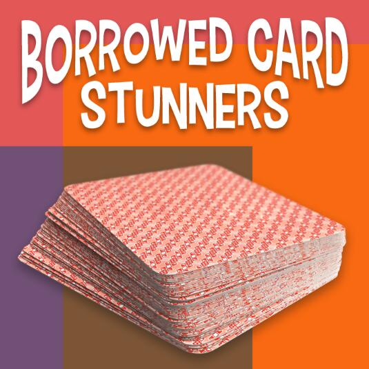 Larry Hass - Borrowed Card Stunners