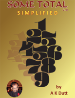 A .K. Dutt - Some Total Simplified 2.0