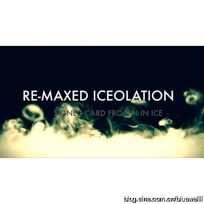 Kieron Johnson - Re-Maxed Iceolation