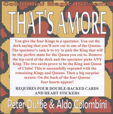 Peter Duffie & Aldo Colombini - That's Amore