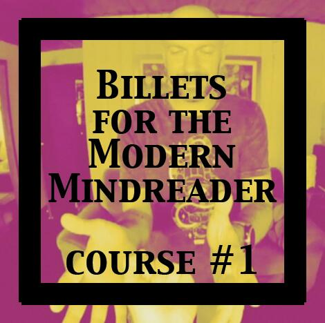 Julien Losa - Billets for the Modern Mindreader