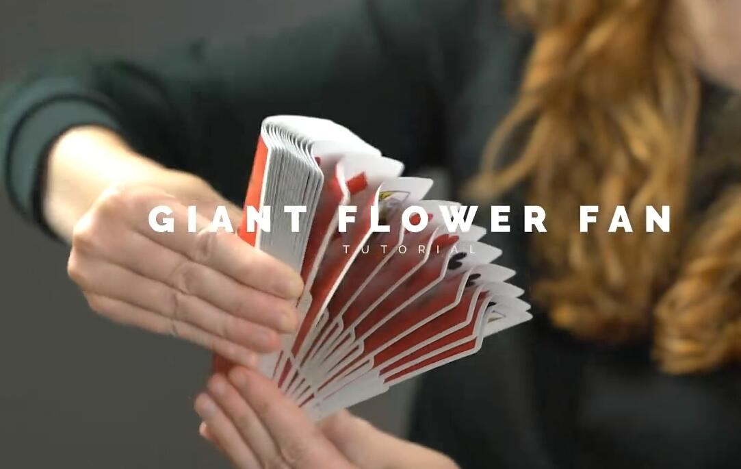 Ekaterina - Giant Flower Fan
