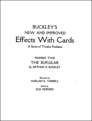 Arthur Buckley - Effects with Cards 2