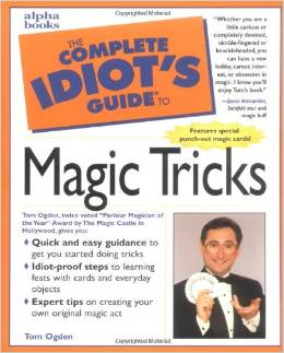 Apha Books - Complete idiots guide to magic tricks