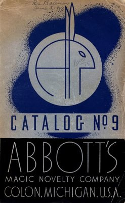 Percy Abbott - Abbott Magic Catalog #9 1947