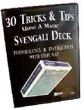 Eddy Ray - 30 Tricks - Tips Using A Magic Svengali Deck