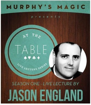 At the Table Live Lecture Jason England