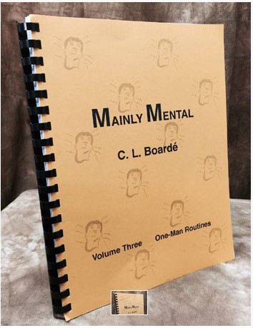 C. L. Boarde - Mainly Mental Vol 3 One Man Routines