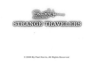 David Blaine - STRANGE TRAVELERS